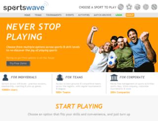 sportswave.co.in screenshot