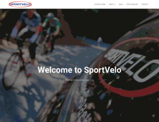 sportvelo.com screenshot