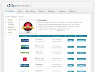 sportwetten-1.com screenshot