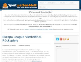sportwetten-welt.com screenshot