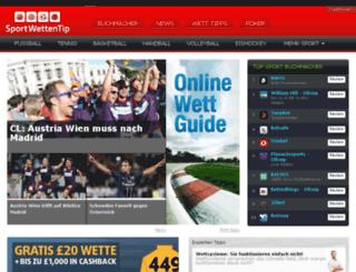 sportwettentip.com screenshot