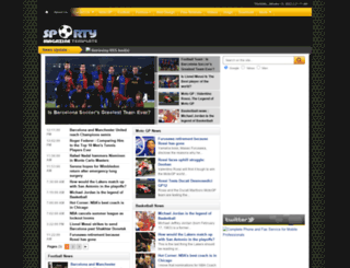 sportymagazine2.blogspot.com screenshot