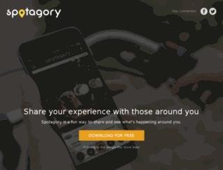 spotagory.com screenshot
