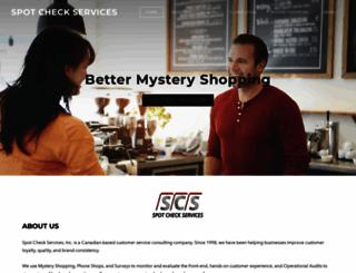 spotcheckservices.com screenshot