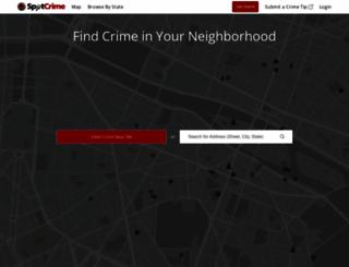 spotcrime.com screenshot