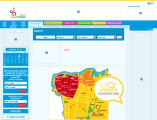 spotlebanon.com screenshot