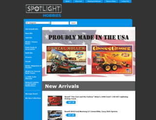 spotlighthobbies.com screenshot