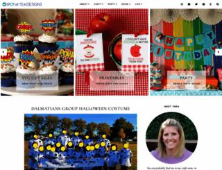spotofteadesigns.com screenshot