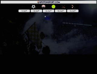 spotonsport.com screenshot