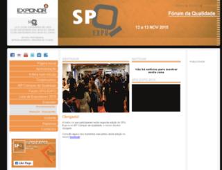 spq.exponor.pt screenshot