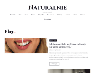 spragnieninatury.pl screenshot