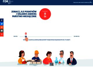 sprawdzpodatki.pl screenshot