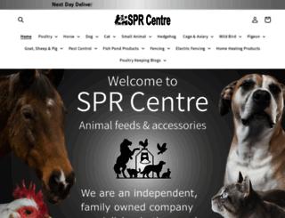 sprcentre.com screenshot