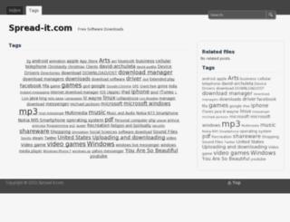 spread-it.com screenshot