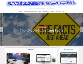spreadbettingportal.com screenshot