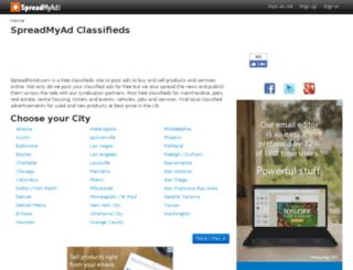 spreadmyad.com screenshot