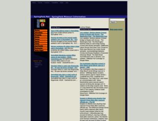 springfield.net screenshot