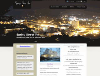 springstreetinn.net screenshot