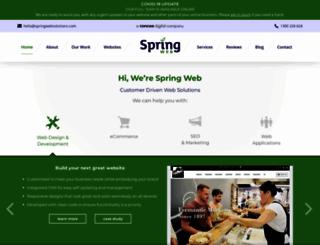 springwebsolutions.com screenshot