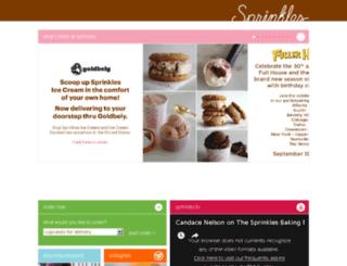 sprinklesicecream.com screenshot