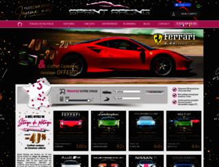 sprint-racing.com screenshot
