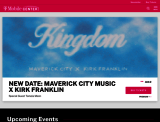 sprintcenter.com screenshot