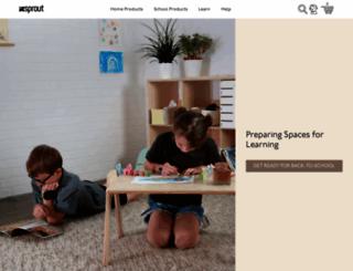 sprout-kids.com screenshot