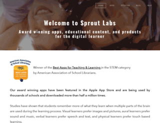sproutlabs.net screenshot