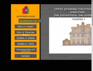 sprzedamto.com.pl screenshot