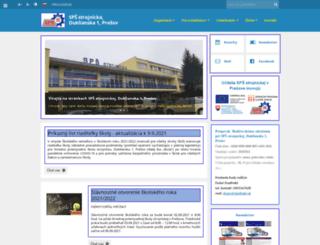 spspo.edupage.org screenshot