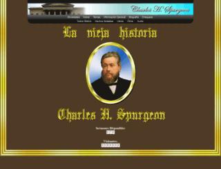 spurgeon.com.mx screenshot