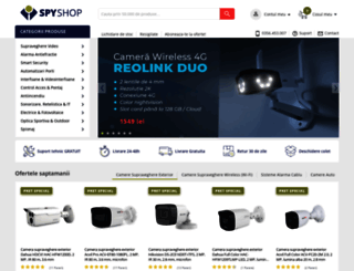 spy-shop.ro screenshot