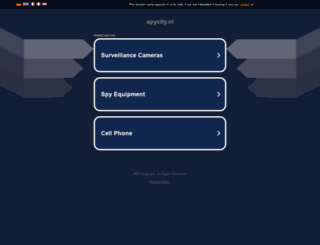 spycity.nl screenshot