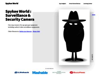 spykeeworld.com screenshot