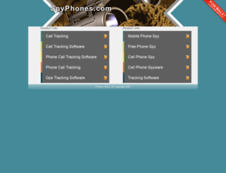 spyphones.com screenshot