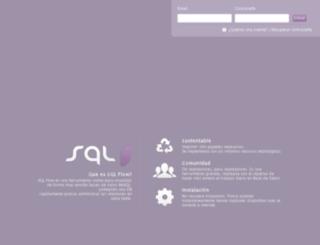 sql.mostflow.com screenshot