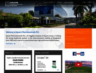 squarepharma.com.bd screenshot