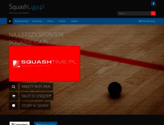 squashliga.pl screenshot