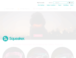 squeakerdogs.com screenshot