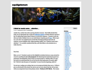 squidgetsmum.wordpress.com screenshot