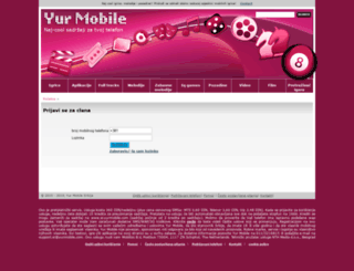 sr.yurmobile.com screenshot