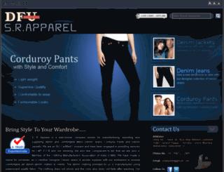 srapparel.in screenshot