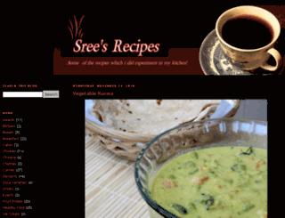 srees-recipes.blogspot.ru screenshot