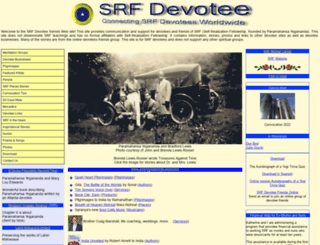 srfdevotee.com screenshot
