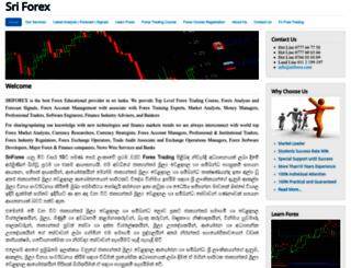sriforex.com screenshot