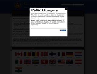 srilankavisa.org screenshot