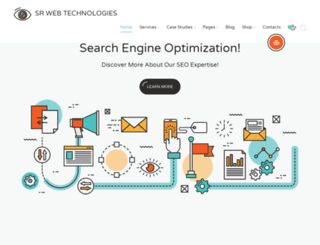 srwebtechnologies.com screenshot