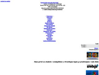 ss-kom-trg-st.skole.hr screenshot