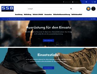 ssb-shop.com screenshot