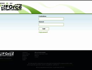 ssc.nforce.com screenshot